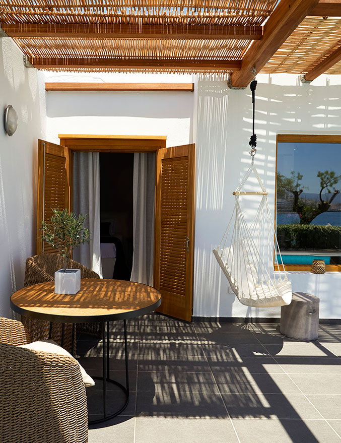 Minos Beach art hotel - One-bedroom Villa with private pool