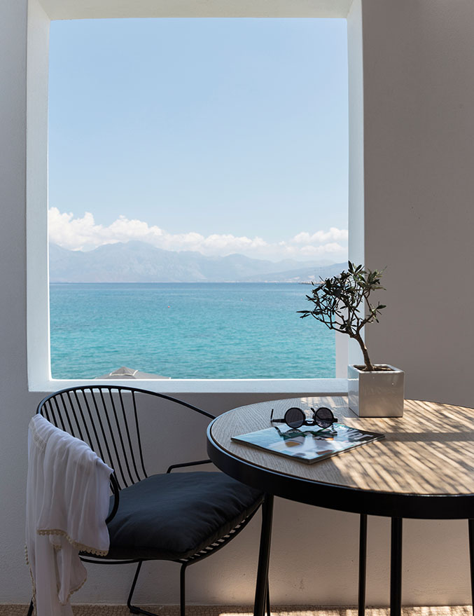 Minos Beach art hotel - Улучшенные прибрежные бунгало
