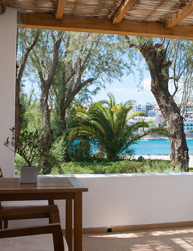 Minos Beach art hotel - Superior Strandbungalow