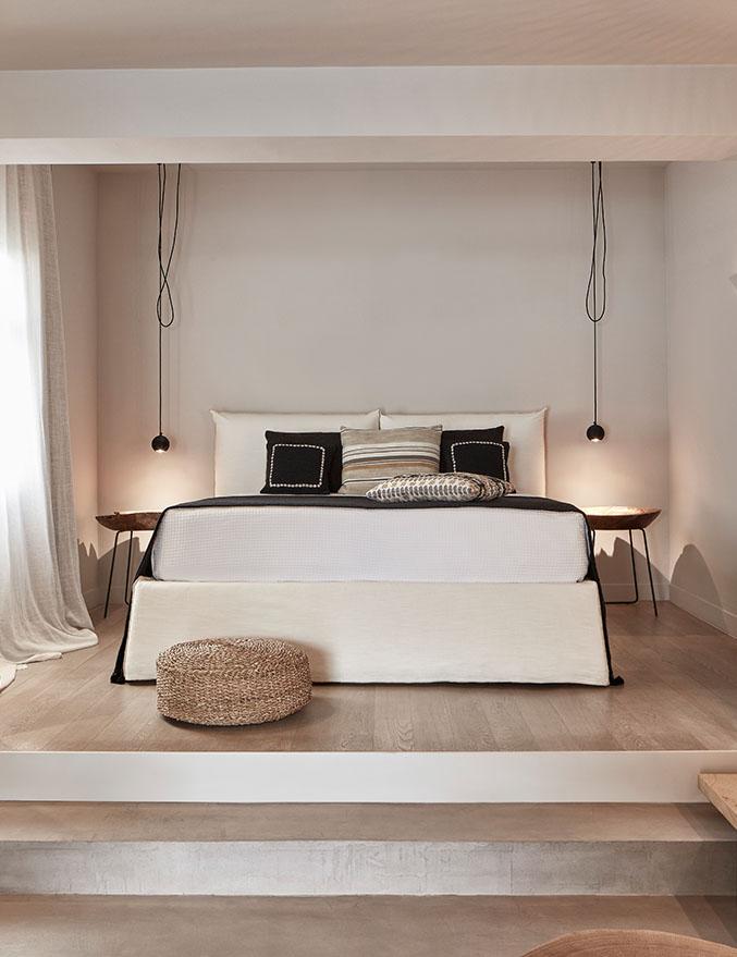 Minos Beach art hotel - Бунгало повышенной комфортности с видом на море