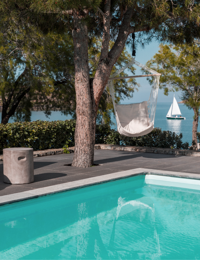 Minos Beach art hotel - Classic Superior Seafront Bungalow with private pool